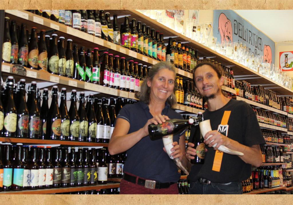 Céline et Renaud de L'Échoppe Médiévale à Narbonne